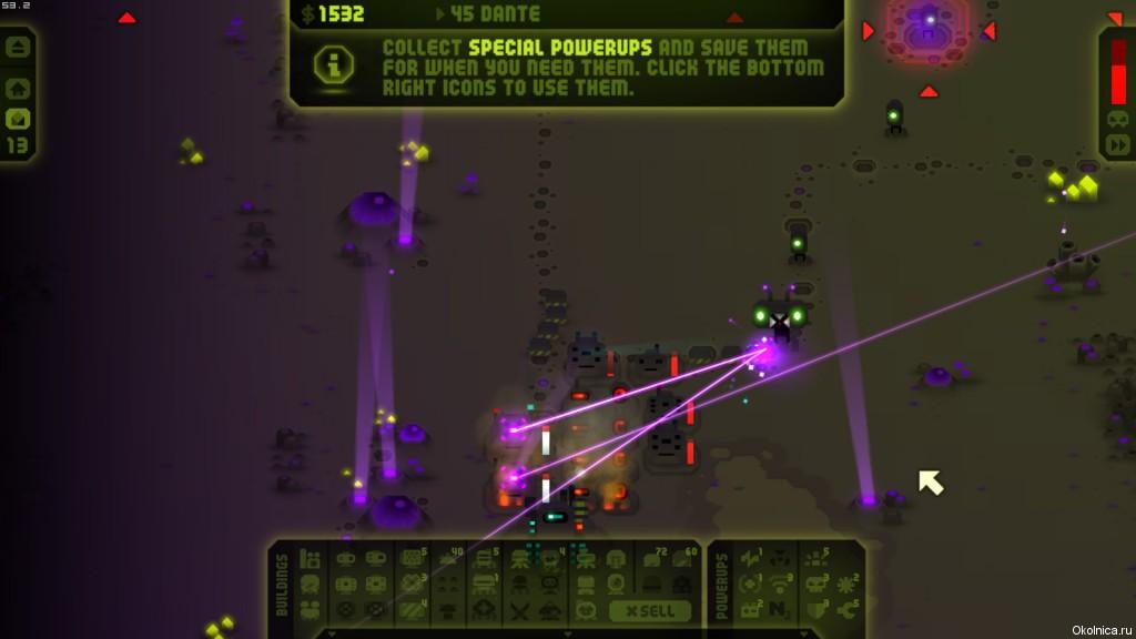 Revenge of the Titans Lasers