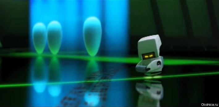 маленький робот